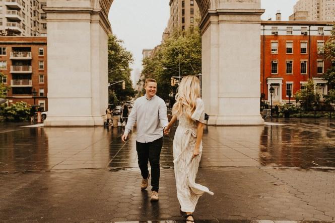 Greenwich Village Engagement Photos-27