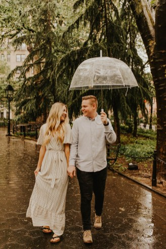 Greenwich Village Engagement Photos-3