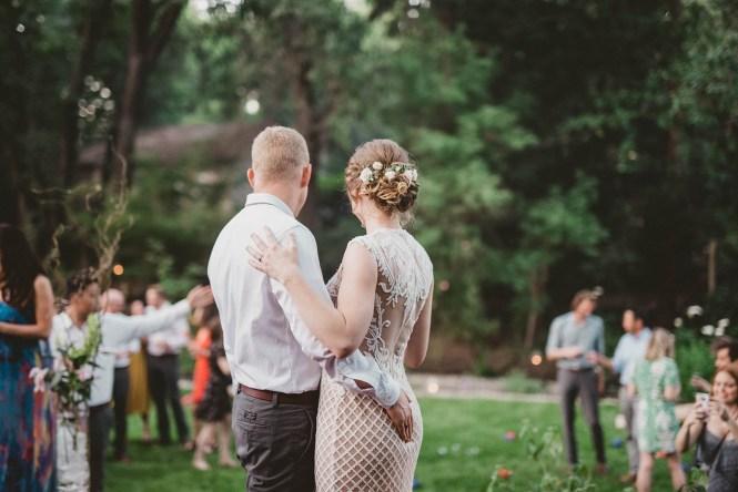 Megan and Patrick - Backyard Boho Wedding-138