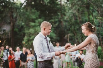 Megan and Patrick - Backyard Boho Wedding-139