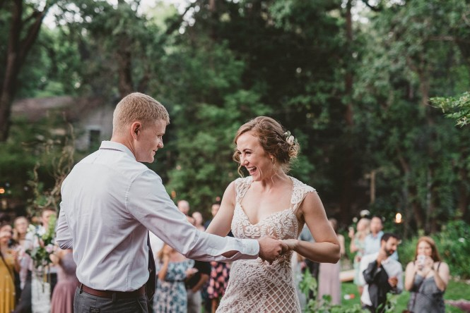Megan and Patrick - Backyard Boho Wedding-142