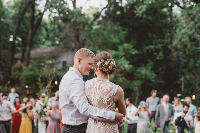 Megan and Patrick - Backyard Boho Wedding-143