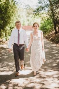Megan and Patrick - Backyard Boho Wedding-32