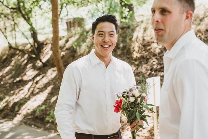 Megan and Patrick - Backyard Boho Wedding-44