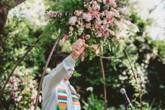 Megan and Patrick - Backyard Boho Wedding-70