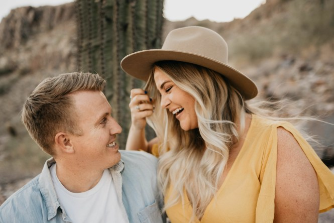 Piestewa Peak Engagement Photos-2
