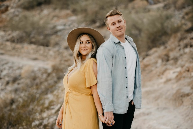 Piestewa Peak Engagement Photos-24