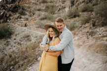 Piestewa Peak Engagement Photos-27
