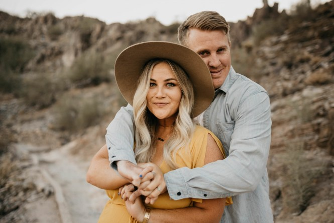 Piestewa Peak Engagement Photos-28