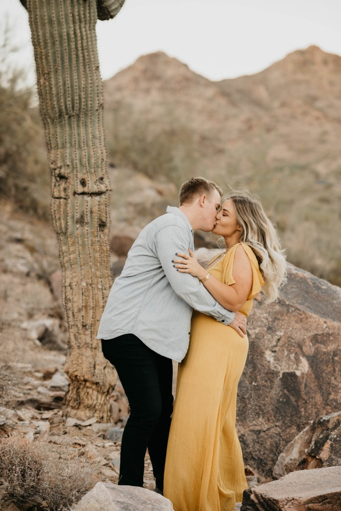 Piestewa Peak Engagement Photos-32