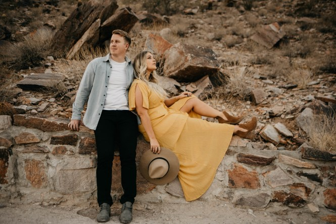 Piestewa Peak Engagement Photos-35