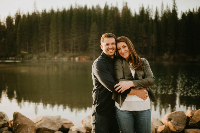Stephanie and Brett - Tahoe Engagement Session-17