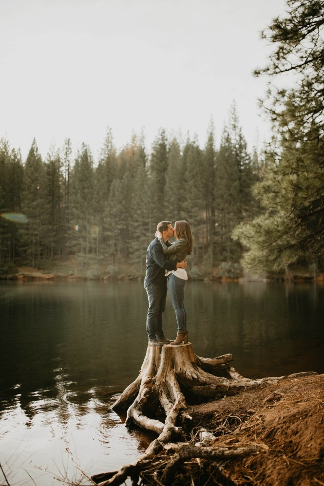 Stephanie and Brett - Tahoe Engagement Session-3