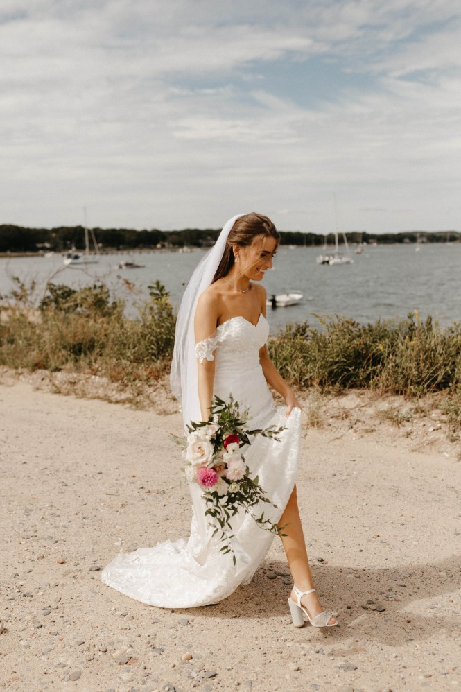 Backyard Shelter Island Wedding-15