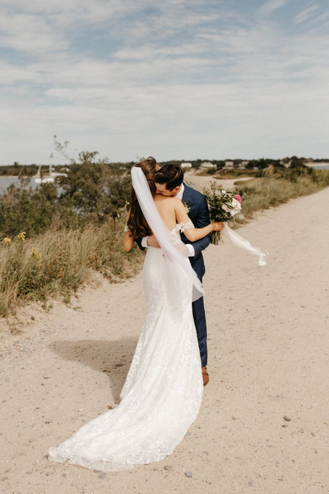 Backyard Shelter Island Wedding-19