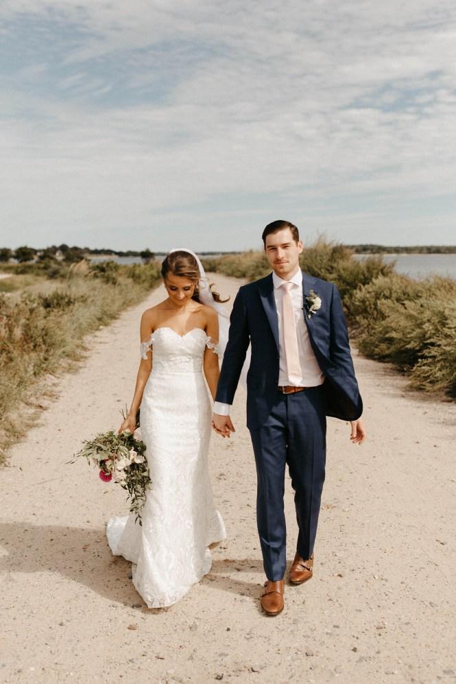 Backyard Shelter Island Wedding-25