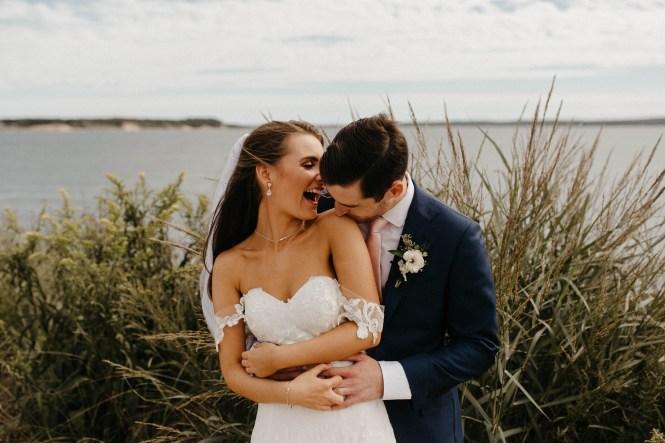 Backyard Shelter Island Wedding-30