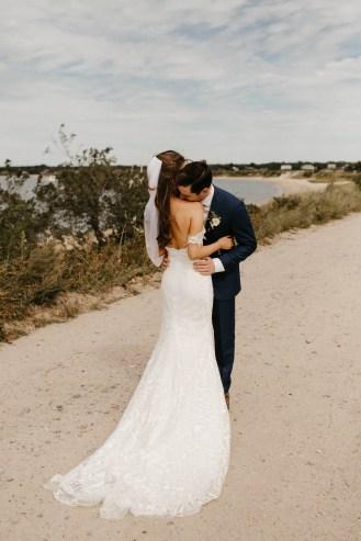 Backyard Shelter Island Wedding-31