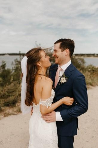 Backyard Shelter Island Wedding-32