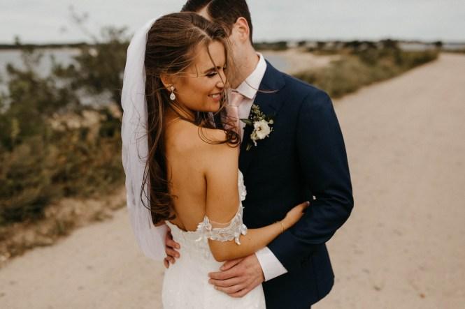 Backyard Shelter Island Wedding-33
