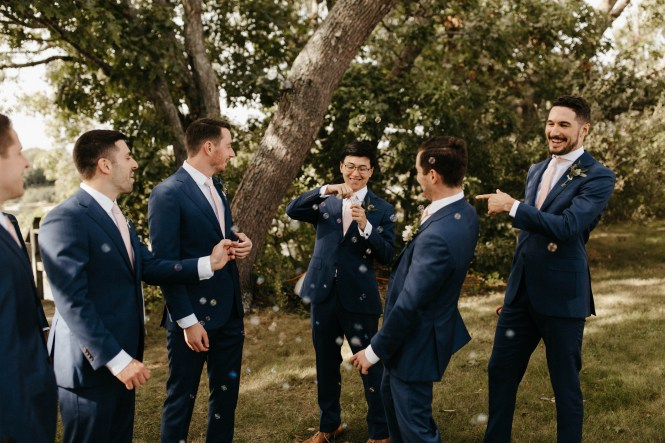 Backyard Shelter Island Wedding-45