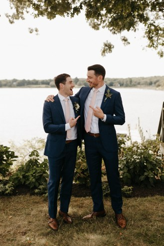 Backyard Shelter Island Wedding-46
