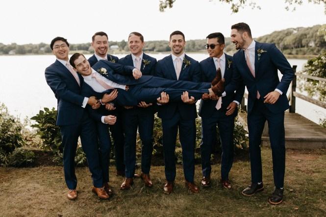Backyard Shelter Island Wedding-48