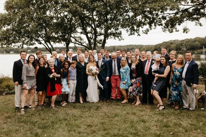Backyard Shelter Island Wedding-49