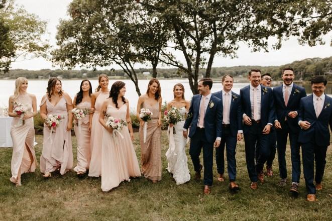 Backyard Shelter Island Wedding-54