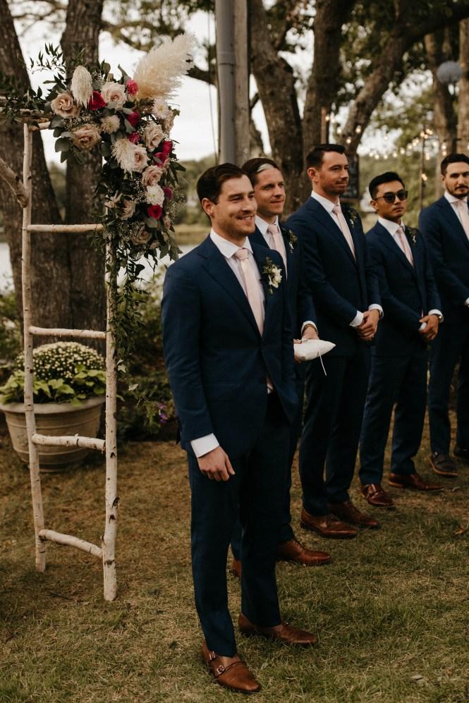Backyard Shelter Island Wedding-71
