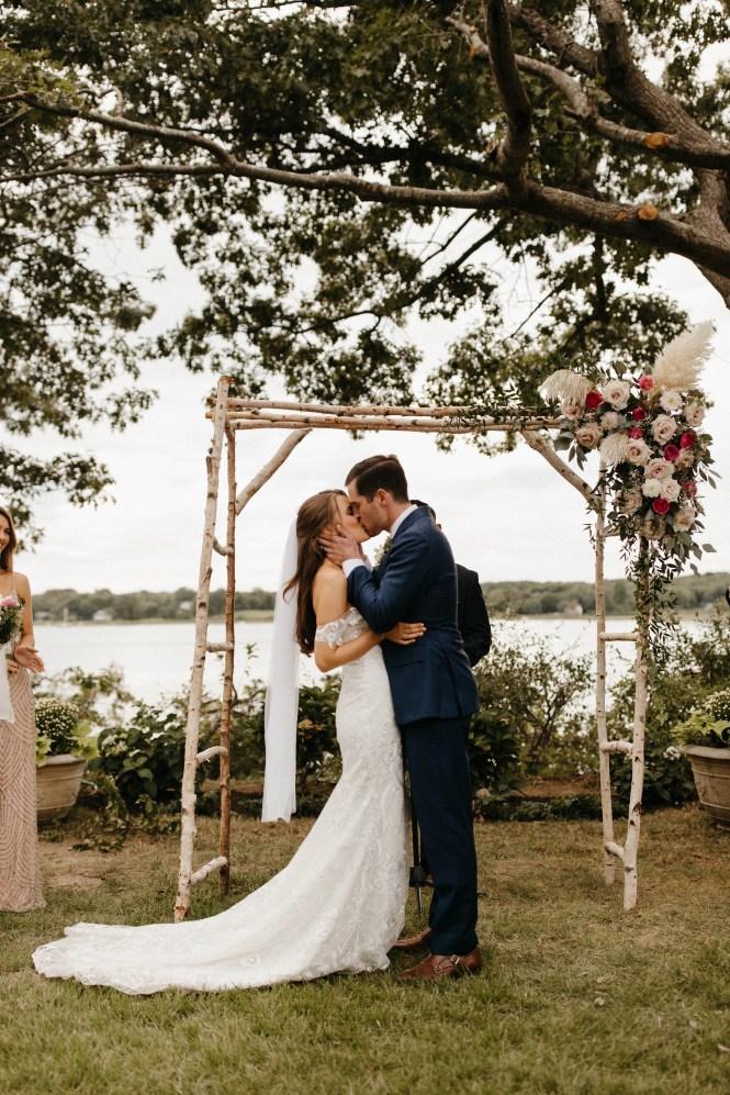 Backyard Shelter Island Wedding-80