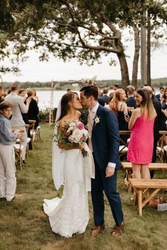 Backyard Shelter Island Wedding-82