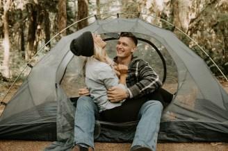 Camping Engagement Shoot-21