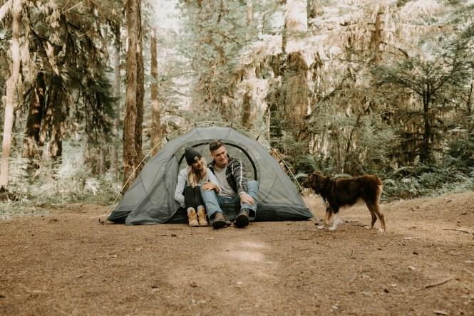 Camping Engagement Shoot-24