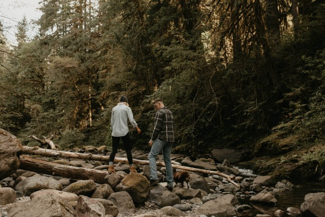 Camping Engagement Shoot-25