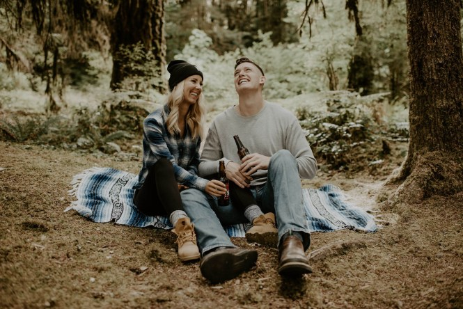 Camping Engagement Shoot-8