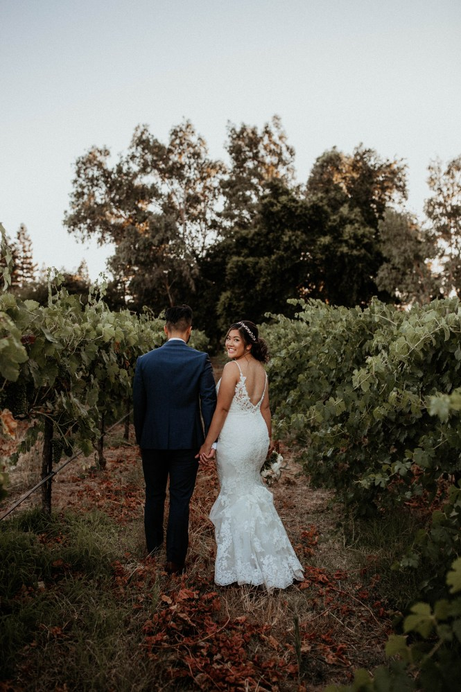 Intimate Wedding at Grace Vineyards in Galt CA-56