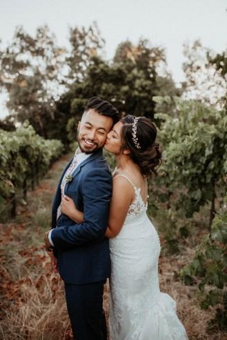 Intimate Wedding at Grace Vineyards in Galt CA-58