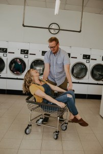Laundromat Engagement-12