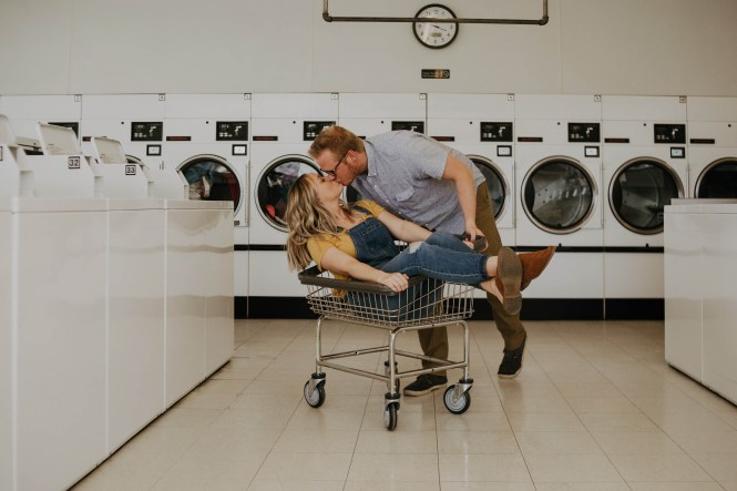 Laundromat Engagement-14