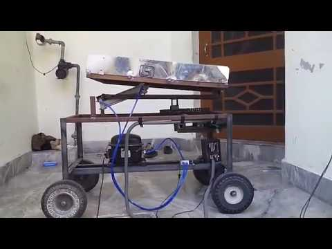Three Axis Pneumatic Trailer