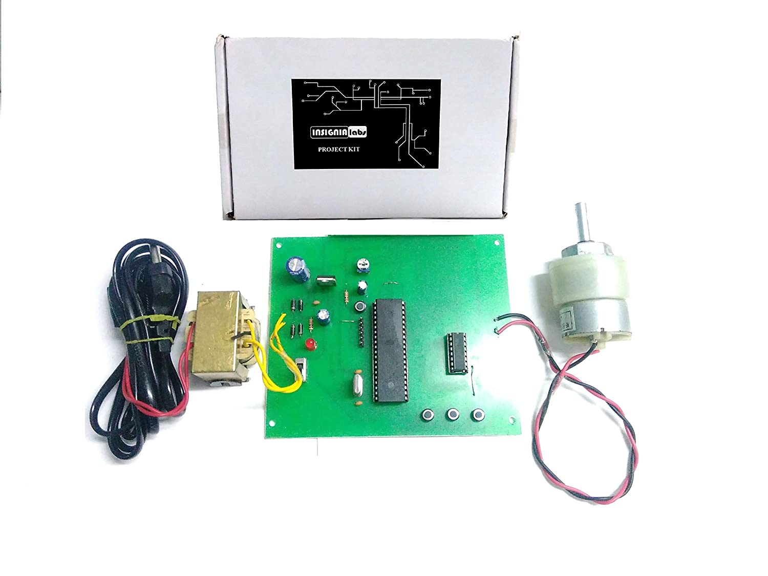Microcontroller Based DC Motor Speed Controller