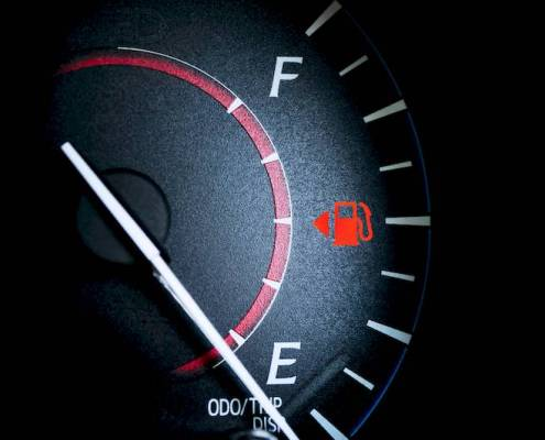 Automobile Fuel Indicator