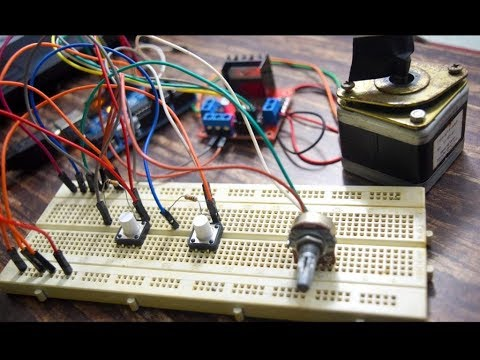 Controlling Speed and Direction of Stepper Motor
