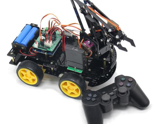 Robotic Arm Wireless Remote Controlled