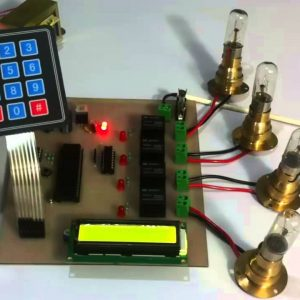Auto Power Supply Control from 4 Different Sources to Ensure no Power Break