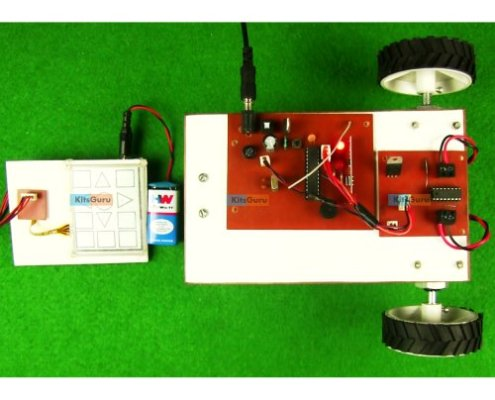 Touch Screen Based Wireless Robotic Vehicle