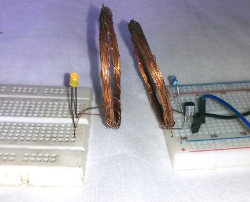 Wireless Power Transfer (without microcontroller)