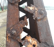 CORROSION OF IRON AND STEEL
