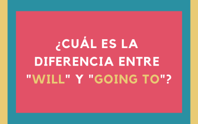 ¿Cuál es la diferencia entre WILL y GOING TO?